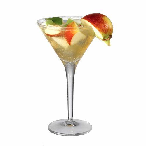 ... apple syrupShake ingredients with ice and serve in a martini glass