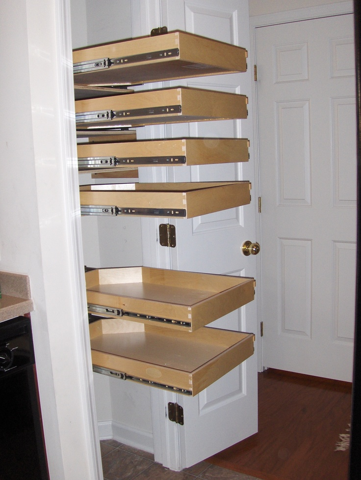 slide out shelving for pantry design ideas kitchen. Black Bedroom Furniture Sets. Home Design Ideas