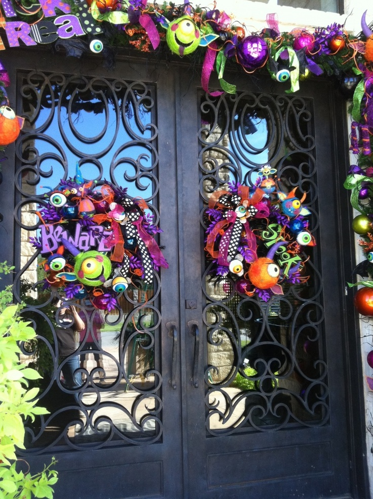 How to on halloween garlands halloween pinterest for Halloween girlande