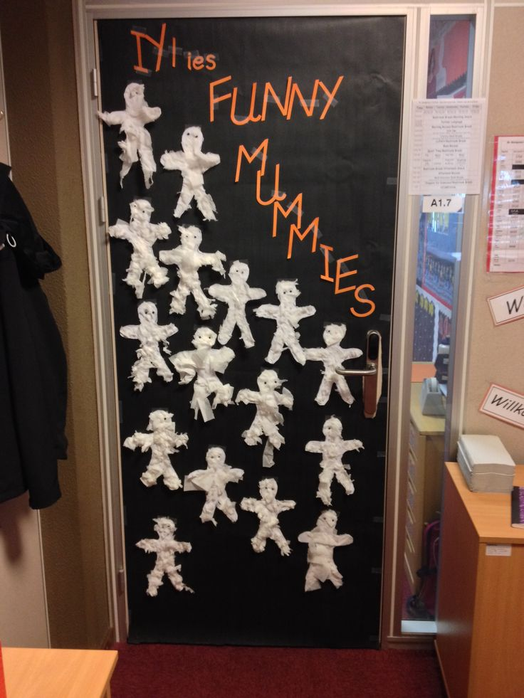 Halloween Classroom Door Decorations Ideas : Halloween classroom door decoration pinterest