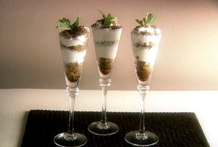 Italian Espresso Granita with Whipped Cream!
