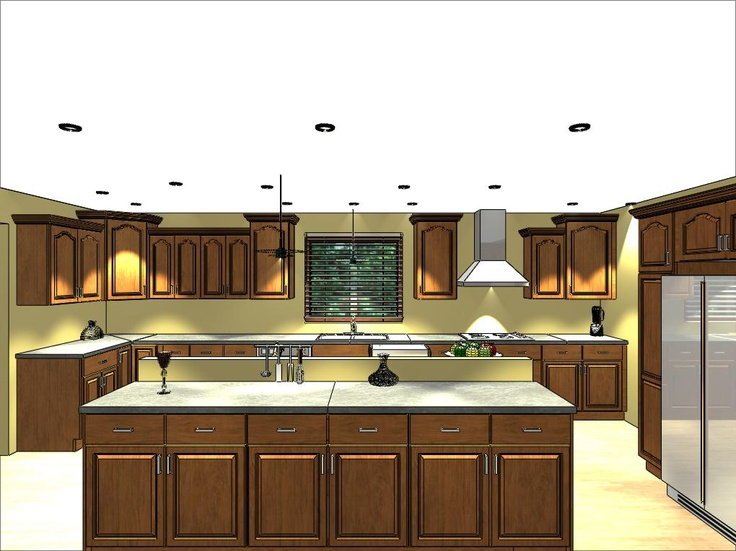 Lily Ann Cabinets 3d Renderings Pinterest
