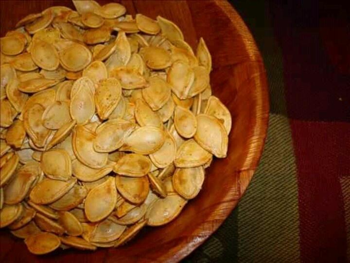 toasted pumpkin seed recipe | Food/Snacks/Drinks | Pinterest