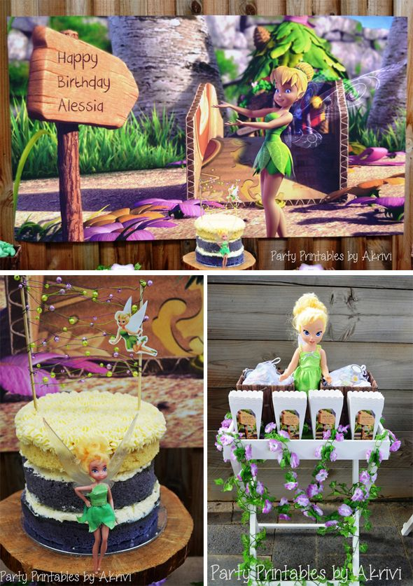 Magical Tinkerbell Birthday Party #tinkerbell #birthday #party #kids #girls