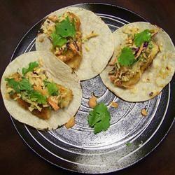 Fish Tacos with Honey-Cumin Cilantro Slaw and Chipotle Mayo Allrecipes ...