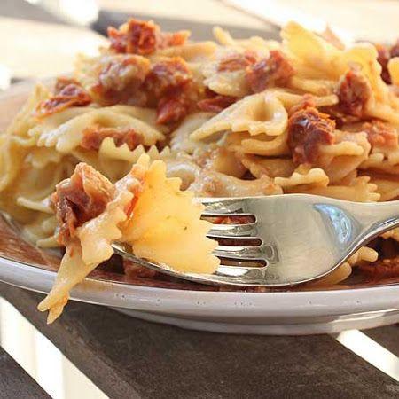 farfalle with pistachio cream sauce share the knownledge cream sauce ...