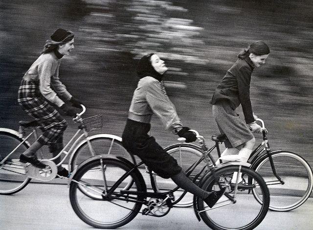 Fashion photo by Herman Landshoff for Junior Bazaar, August 1946