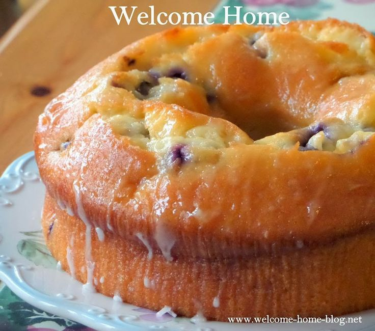 Welcome Home: Blueberry Lemon Pound Cake | Favorite ...