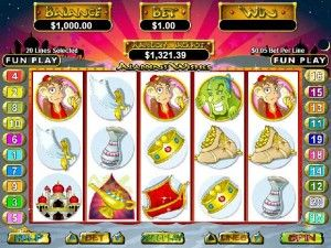 what was aladdins wishes slots reviews