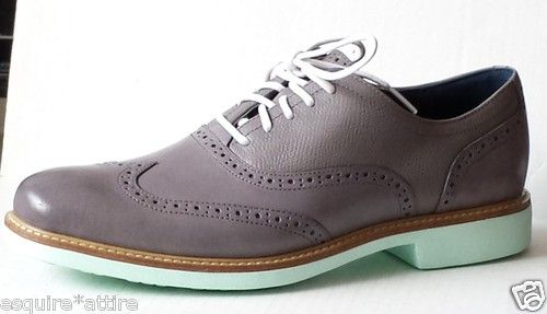 Cole Haan men shoes size 9 M oxford wing tip new with box color