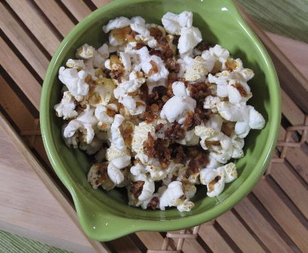 More like this: bacon popcorn , maple bacon and maple syrup .