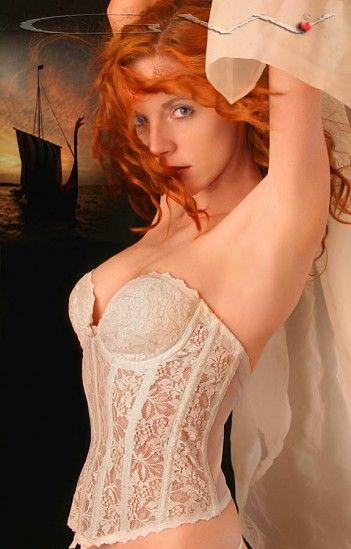 Hot. love redhead lingerie models splendid