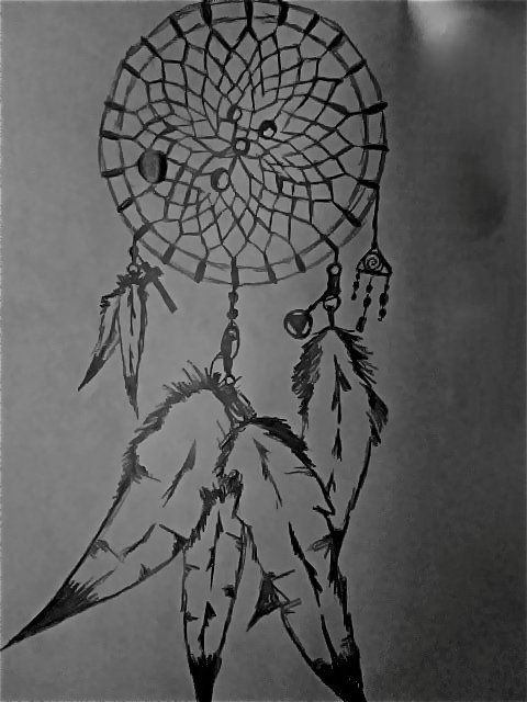how to draw a dragaonfly dream catchers
