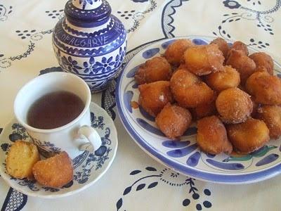 Portuguese Apple Fritters Recipe — Dishmaps