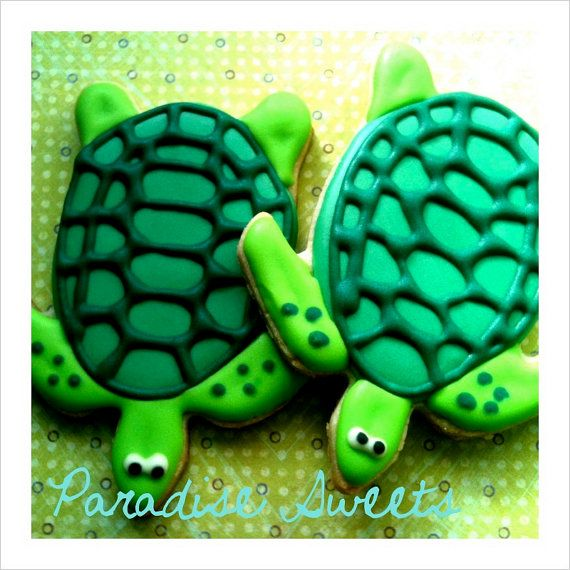 turtle cookies 1 doz