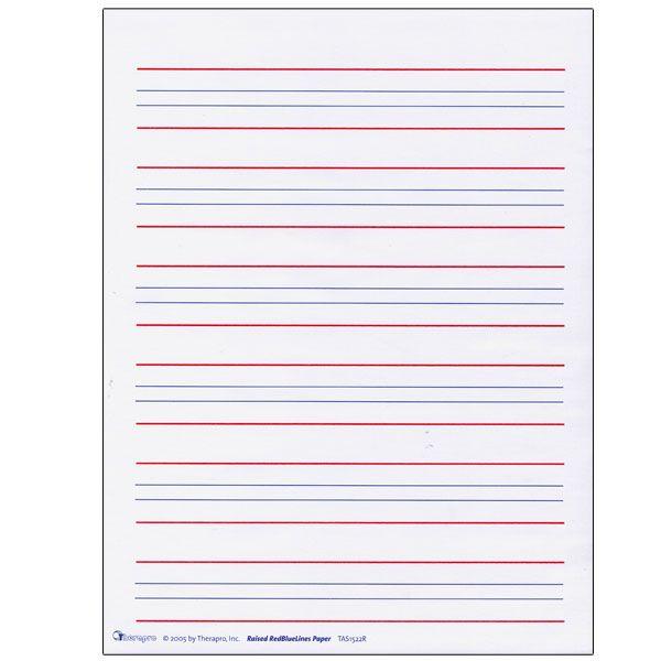 Blank Kindergarten Writing Paper