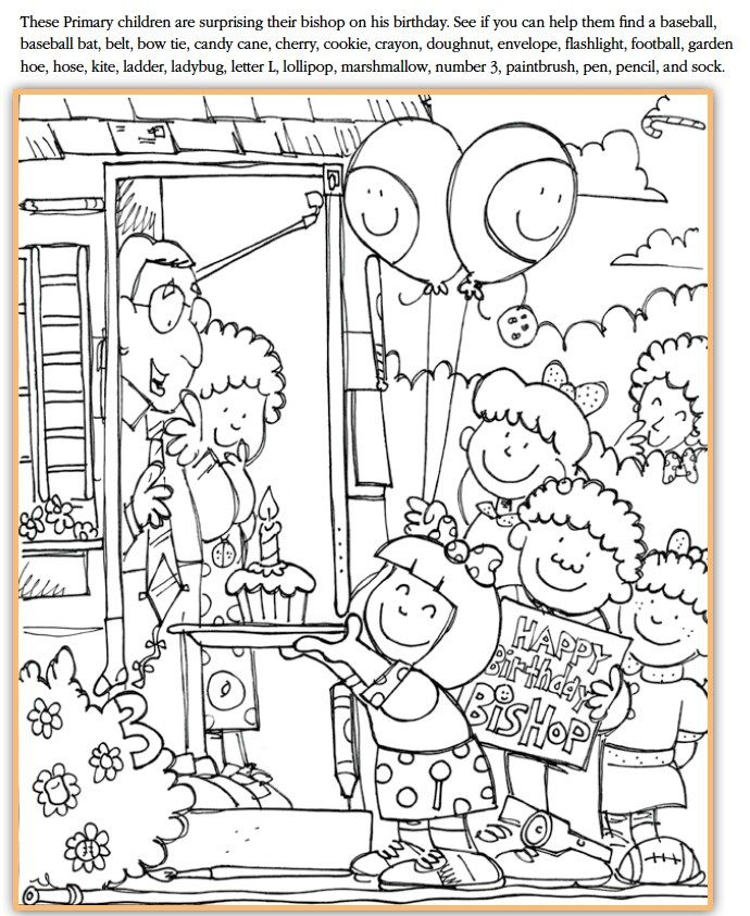 Free Coloring Pages Of Choose The Right Lds Lds Primary Coloring Pages