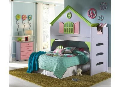 Badcock Sweet Dreams Doll House Bed Home Decor