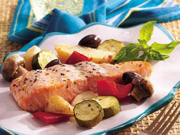 Roast Salmon Provençal | Recipe