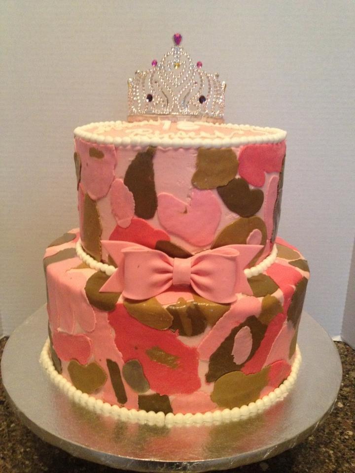 Pink Camo Cake Images : Pink Camo Cake camo cakes Pinterest