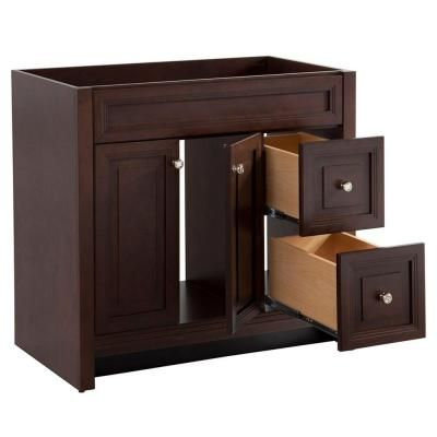 Home decorators collection brinkhill 36 in vanity cabinet only in co Home decorators collection 36 vanity
