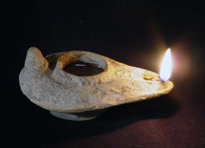 Ancient Oil Lamp Enlightenment Pinterest