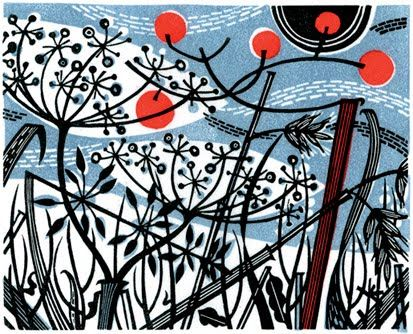 Angie Lewin - Winter Spey