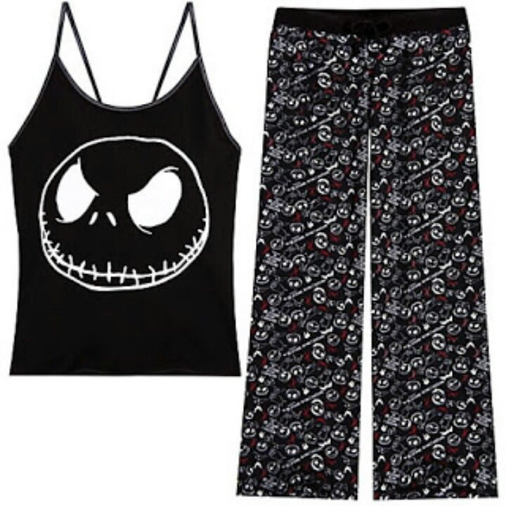 Nightmare Before Christmas pajamas | Stuff I want | Pinterest