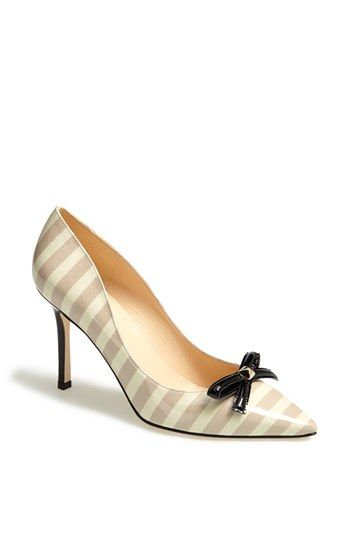 kate spade new york 'pietra' leather pump available at #Nordstrom