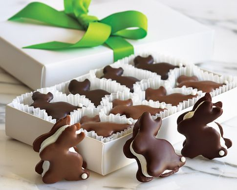 bunny s'mores...wonder if I could make these gluten-free?