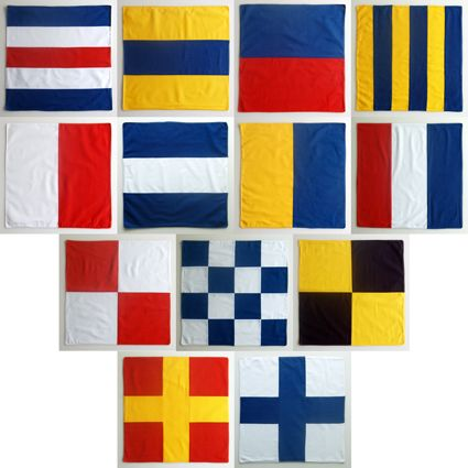 sewing flags