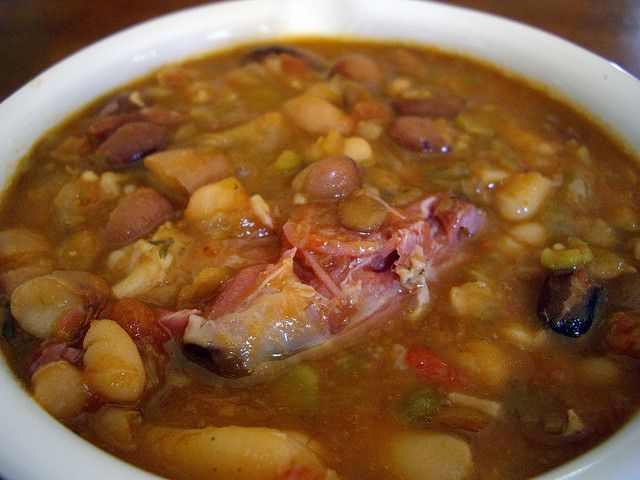... soup the best bean and ham soup white bean and ham soup best soup is