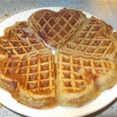 Almond Flour Waffles Recipe...made these today & added a little more ...