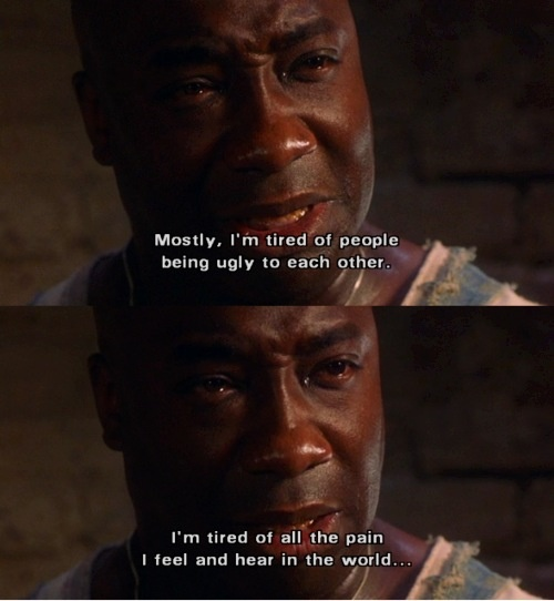 The Green Mile- RIP Michael Clarke Duncan. May the idiots who ...