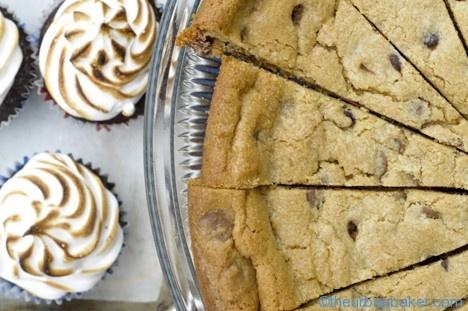 Peanut Butter Cookie pie | Cookie {Cakes} | Pinterest