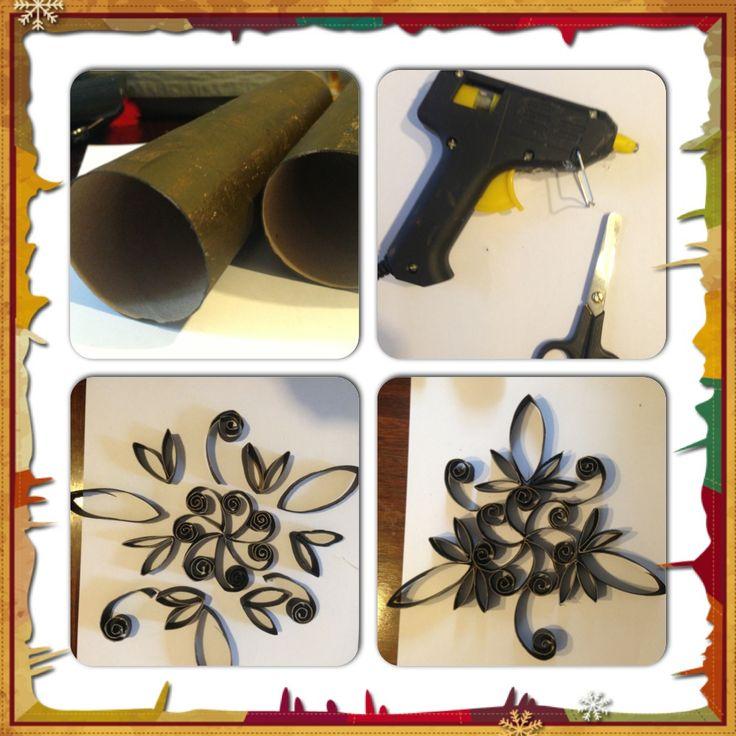 Conos de papel higi nico se transforman en decoraci n para - Decoracion casera para el hogar ...