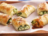 Feta and spinach bites | Yum | Pinterest
