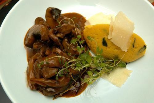 More like this: wild mushrooms , mushrooms and polenta .