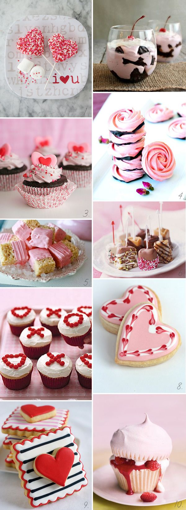 Yummy Sweets and Treats – Valentine's Day Goodies | onefabday.com