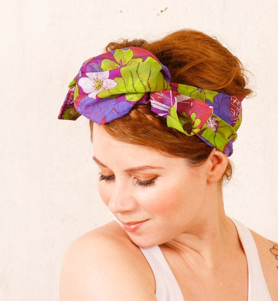 Scarf summer | Head scarfs ♥ | Pinterest