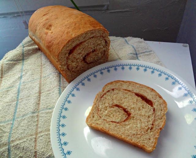 Whole Wheat Cinnamon Swirl Bread | Breads (Sweet) | Pinterest