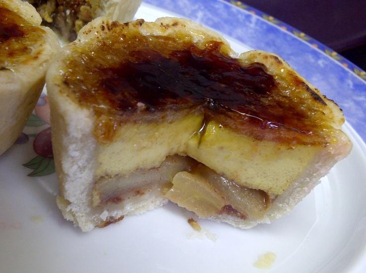 Apple w/Cinnamon Custard (brûléed tart) | Pies & Tarts | Pinterest