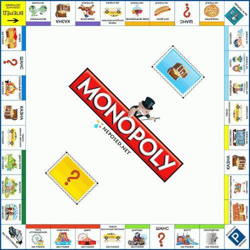 Монополия классик своими руками 4