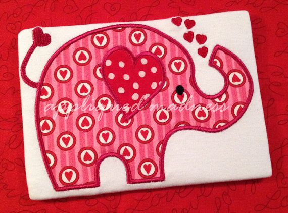 valentine's day elephant craft