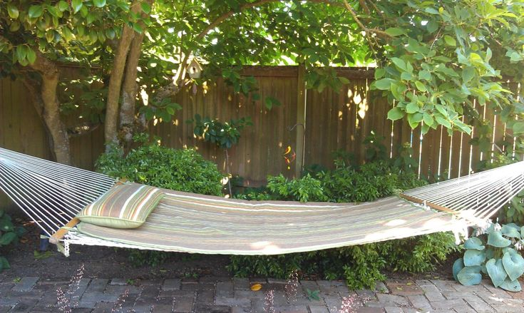 Backyard Hammock Swing : More like this hammocks , backyard hammock and backyards