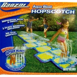 WATER GAME - HOPSCOTCH - AQUA BLAST