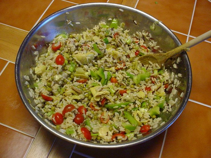 Vegetable Rice Pilaf | Fit and Fab Living | Health | Beauty | Fitness ...