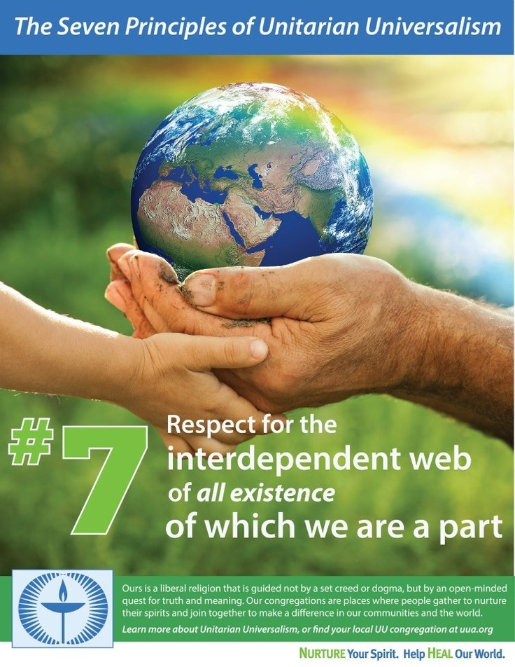 Unitarian Universalism seventh principle