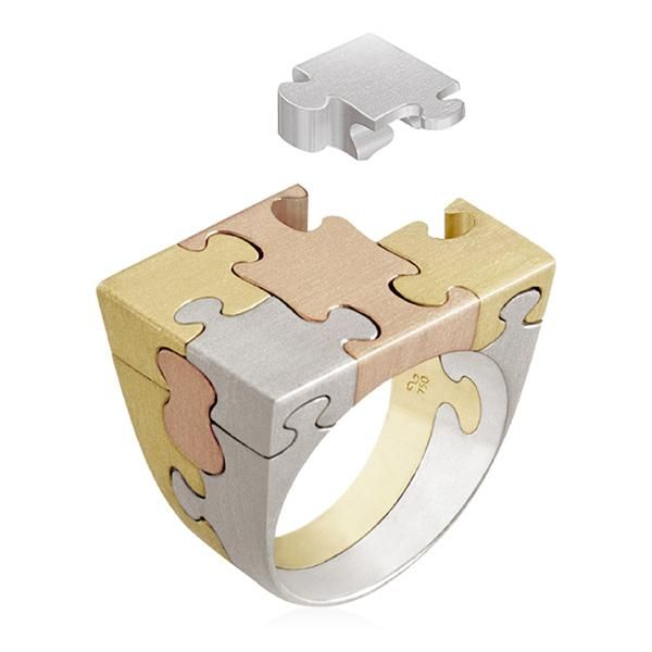 puzzle ring jewelry