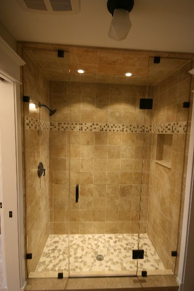 Tile shower for Bath remodel pinterest